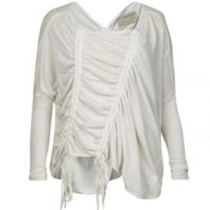 All Saints Spitalfields ruched sweater size 10